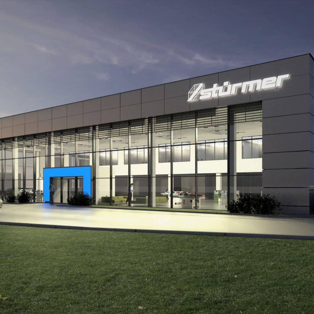 Jakon zaprojektuje i zrealizuje zakład produkcyjny dla Stürmer Maszyny