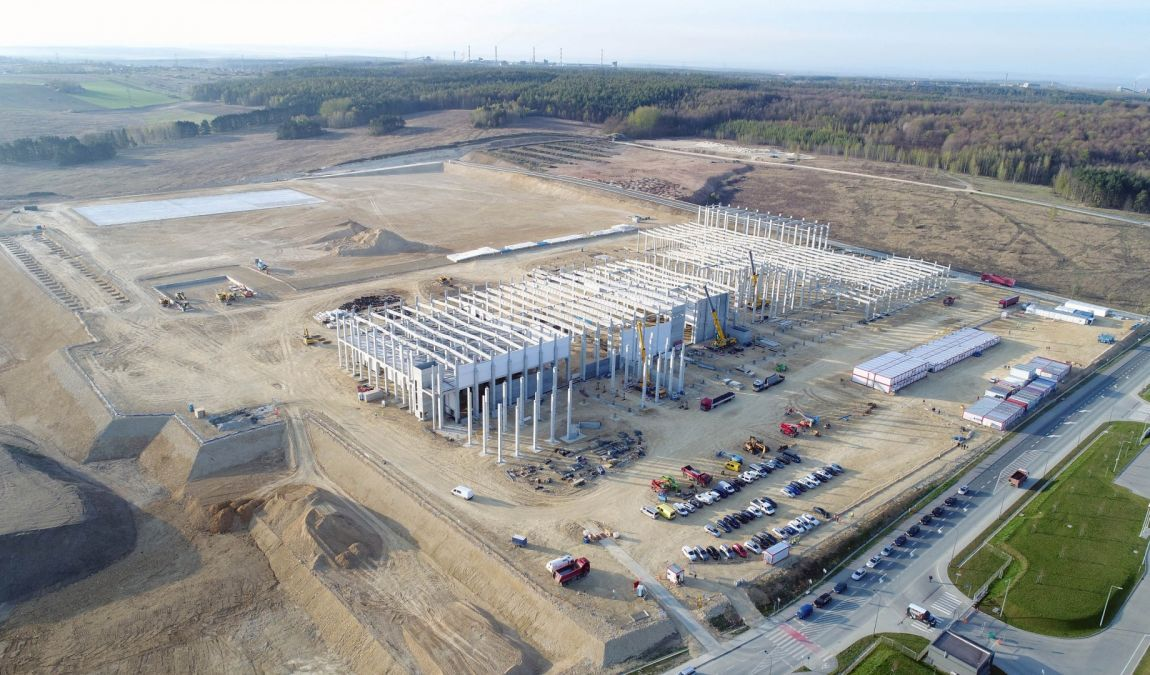 Construction for electromobility sector - SK Engineering & Construction