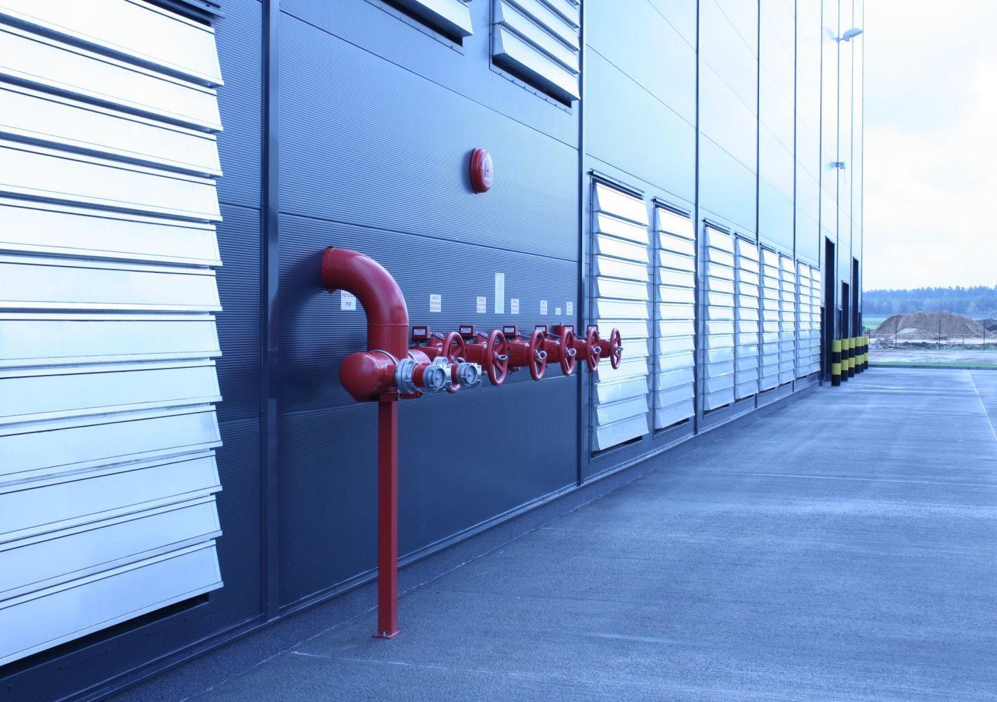 Instalacje przeciwpożarowe